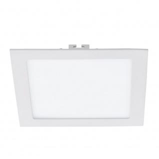 Fueva LED-Einbaupanel 22x22 1700lm Warmweiß Weiß