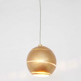 Holländer 300 K 1452 KOM Pendelleuchte Suopare Eisen Gold