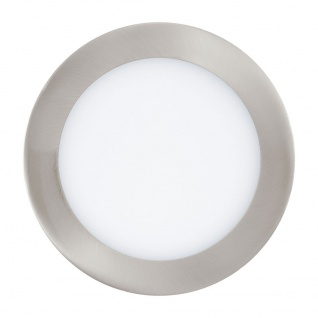 Eglo 31672 Fueva 1 LED Einbauspot Ø 17cm 1350lm Nickel-Matt
