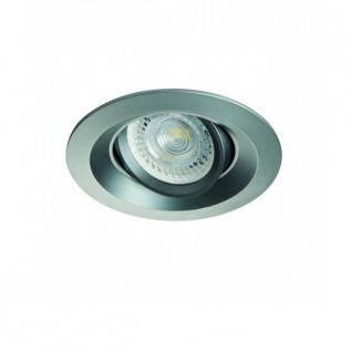 Cloy Einbaustrahler schwenkbar Einbauleuchte Einbaulampe Titangrau