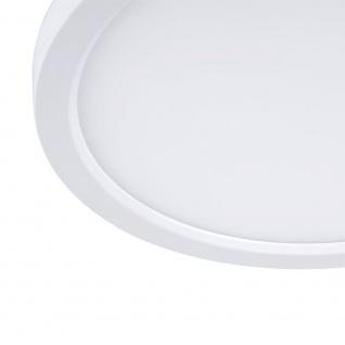 Q-Flat Ø45cm LED Deckenleuchte 2700 - 5000K Weiss - Vorschau 4