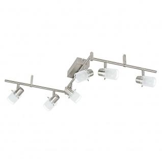 Eglo 93851 Orvieto 1 LED Spot Weiß Klar Nickel-Matt