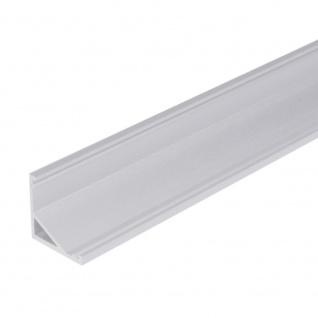 Aufbau-Eckprofil 30° & 60° 200cm Alu-eloxiert ohne Abdeckung für LED-Strips