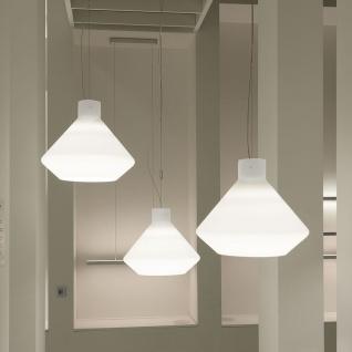 Casablanca Corpo D LED Pendelleuchte Einzelpendel Aluminium gebürstet Pendellampe