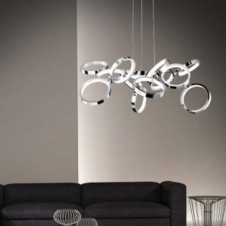 Nova Luce Creazione Design LED Hängelampe 42W 3000K Hängeleuchte Designlampe