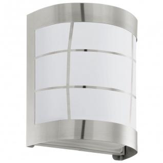 Cerno LED Aussen-Wandleuchte Edelstahl Wandlampe Aussenlampe - Vorschau 2