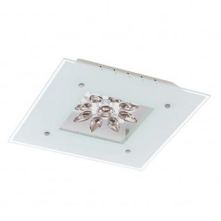 Eglo 93573 Benalua LED Wand- & Deckenleuchte 4-flammig Weiß Klar Weiß