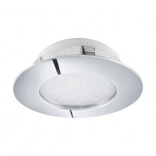 Eglo 95875 Pineda LED Einbauleuchte 1000lm Chrom