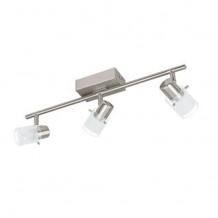 Eglo 93703 Orvieto 1 LED Spot Weiß Klar Nickel-Matt