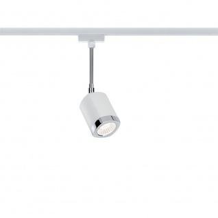 Paulmann URail Systems LED Spot Wankel 1x5, 4W Weiß Chrom 95205