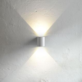 Nordlux Canto LED Aussen-Wandleuchte 700lm Weiß (LT) - Vorschau 1