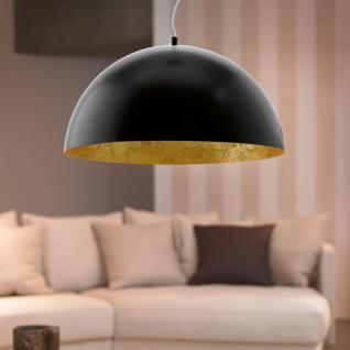 Eglo 94228 Gaetano / LED Hängeleuchte / 24 W / Stahl Schwarz Stahl Kunststoff Schwarz Gold