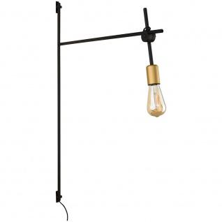 Licht-Trend Retro-Wandleuchte Axis Schwarz Wandlampe Vintage
