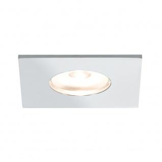 Paulmann Möbel EBL Set Mini eckig LED 5x1W 2700K 6VA 230V/350mA 35x35mm Chrom Alu