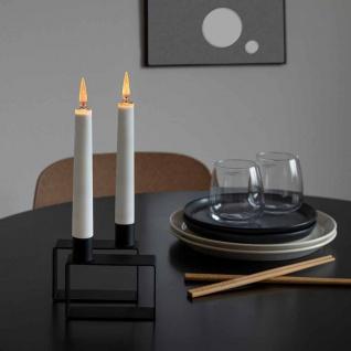 LED Kerzen 2er-Set batteriebetrieben Weiß