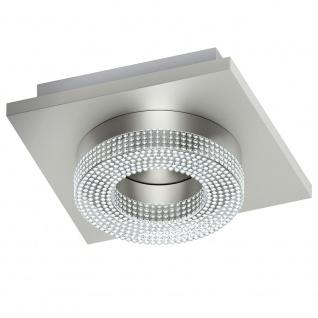 Eglo 95662 Fradelo LED Wand- & Deckenleuchte 400lm Chrom Klar