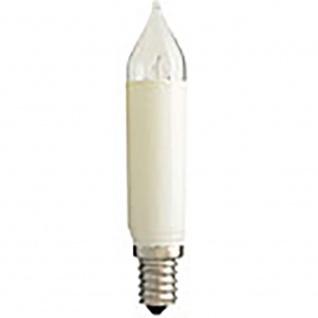 LED Birne Schaftkerze 2er-Blister warmweiß 8 - 55V 0.2W E14 Schraubgewinde