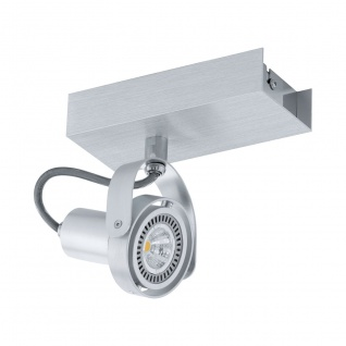 Eglo 94642 Novorio LED Spot 1 x 5 W Stahl Alu-gebürstet