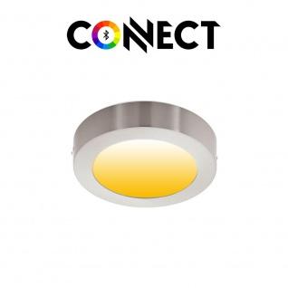 Connect LED Aufbaulampe Ø 22, 5cm 2000lm RGB+CCT