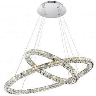 Licht-Trend Cristallo Hängeleuchte brillantes und effektvolles Licht durch geschliffene Glaskrista