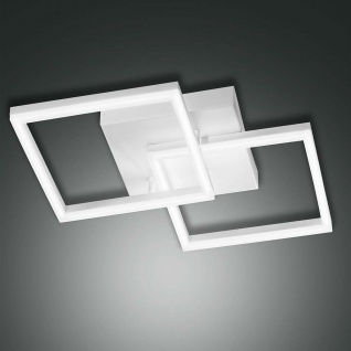 Fabas Luce LED Deckenleuchte Bard 3510lm Weiß