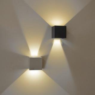 s.LUCE pro Ixa LED Wandleuchte + verstellbare Winkel Wandlampe weiss - Vorschau 3