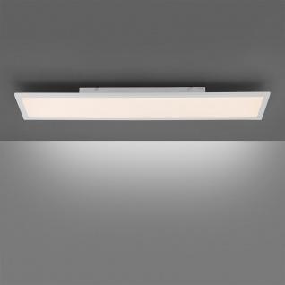 LeuchtenDirekt LED Deckenleuchte Fleet 100x25cm Weiß