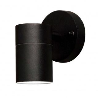 Konstsmide 7572-750 Modena Aussen-Wandleuchte Schwarz klares Glas Reflektor - Vorschau 2