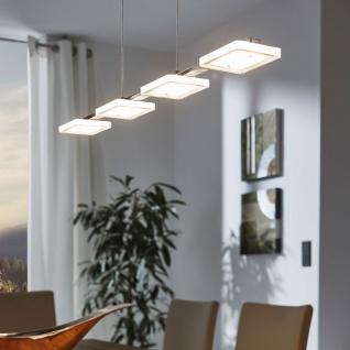 Eglo 94244 Cartama LED Hängeleuchte 4 x 45 W Stahl Chrom Kunststoff klar satiniert