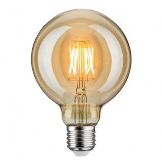 Paulmann LED Retro-Globe 95 6, 5W E27 Gold Warmweiß 28389