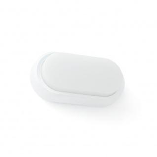 LED Wandlampe FRED IP65 Weiß