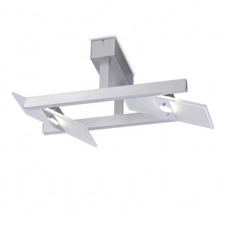 Paul Neuhaus 8001-95 Pukka LED Deckenleuchte Aluminium