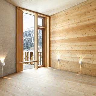 LICHT-TREND Baleno Quadi LED Wand-Aussenleuchte Up&Down Edelstahl Wandlampe