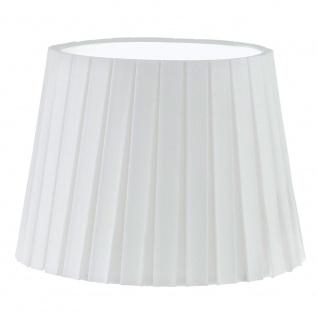 Eglo 49412 1+1 Vintage Schirm Ø 24, 5cm Weiß