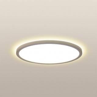 LED Deckenlampe Board 29 Direkt & Indirekt 2700K Dimmbar per Schalter Weiß Deckenleuchte Superflach