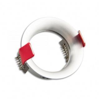 Einbaustrahler Slim rund für GU10 MR16 Alu-Gebürstet