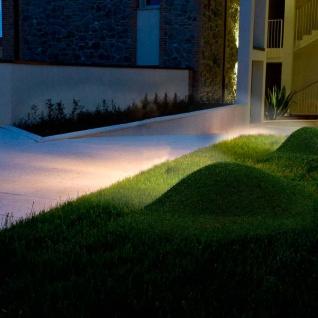 Panzeri LAMPyris LED Aussen Bodenleuchte 500lm Braun Designer Gartenleuchte - Vorschau 3
