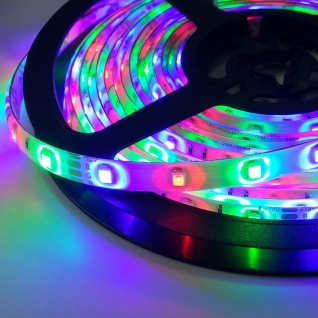 5m LED Strip-Set Ambiente IR-Controller+FB RGB