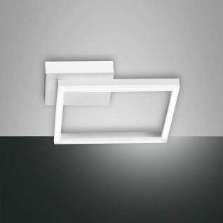Fabas Luce LED Deckenleuchte Bard 1980lm Weiß