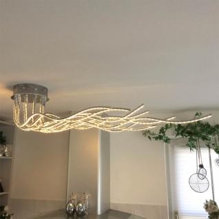Wofi BENETT LED Deckenleuchte 2800lm 150cm Chrom Deckenlampe