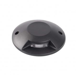 Loth-1 LED Bodeneinbaustrahler IP67 Schwarz