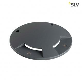 SLV Big Plot Abdeckung 2 Auslässe Anthrazit SLV 1001262