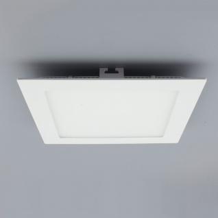 Licht-Design 30399 Einbau LED-Panel 960lm Dimmbar 17x17cm Kalt Weiss