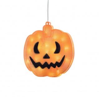 LED Fensterbild Kürbis für Halloween - Vorschau 3