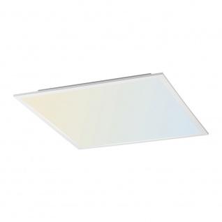 Licht-Trend Q-Flat 45 x 45cm LED Deckenleuchte 2700 - 5000K CCT Weiss