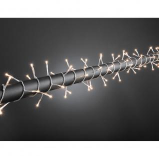 Microlight Lichterkette verschweißt 120 klare Birnen 24V Außentrafo