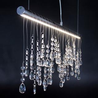 LeuchtenDirekt 15037-17 Ida LED Pendelleuchte Chrom 1000 x 140 mm Hängelampe