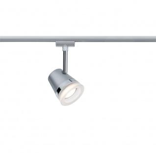 Paulmann URail System LED Spot Cone 1x6, 5W GU10 Chrom matt/Chrom 230V Metall