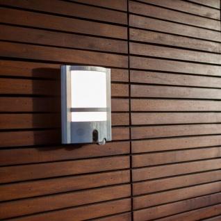Lutec Vesta ST1906-CAM LED-Außenwandleuchte mit Kamera 1350lm Anthrazit