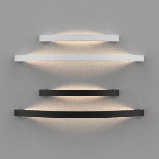 s.LUCE Ring L indirekt leuchtende LED-Wandleuchte 65cm Weiß Wandlampe